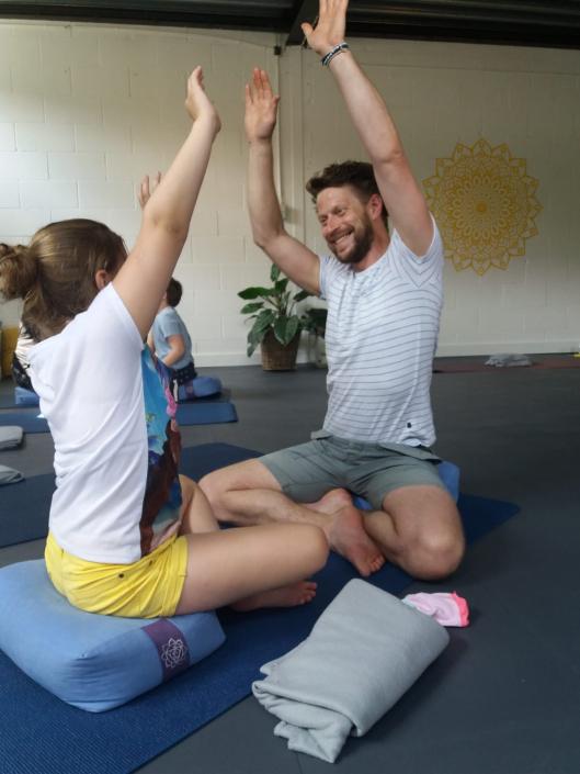 ouder- en kind yoga